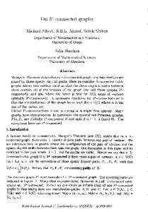 On 3* -connected graphs - The Australasian Journal of Combinatorics
