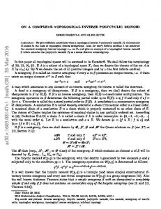 On a complete topological inverse polycyclic monoid