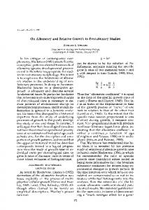 On Allometry and Relative Growth in Evolutionary Studies