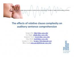 on$ auditory$sentence$comprehension!