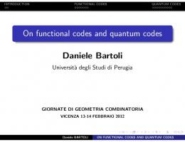 On functional codes and quantum codes