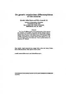 On generic rotationless diffeomorphisms of the annulus - IME-USP