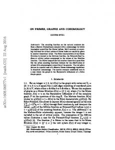 On Primes, Graphs and Cohomology