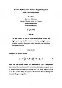 On Solution of Rolling Disk's Differential Equation