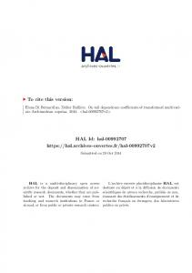On tail dependence coefficients of transformed