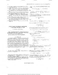On the accuracy of the binomial approximation to the distance ...