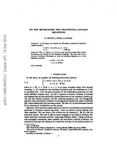 On the bifurcation for fractional Laplace equations