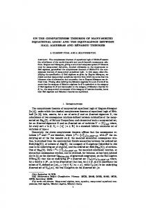 on the completeness theorem of many-sorted equational logic ... - UV