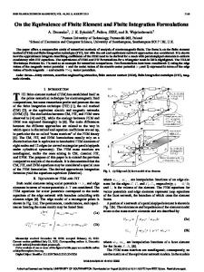 On the Equivalence of Finite Element and Finite ... - ePrints Soton