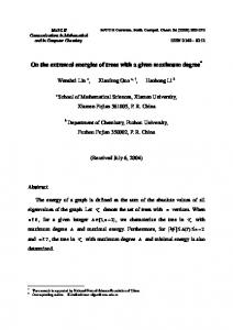 On the extremal energies of trees with a given maximum degree*