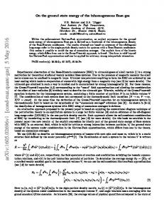 On the ground state energy of the inhomogeneous Bose gas