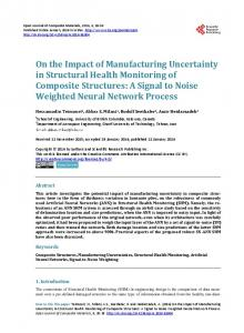On the Impact of Manufacturing Uncertainty in Structural Health ...