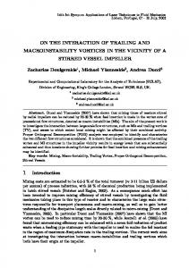 ON THE INTERACTION OF TRAILING AND MACROINSTABILITY