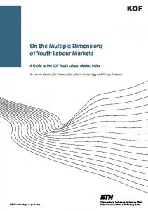 On the Multiple Dimensions of Youth Labour Markets