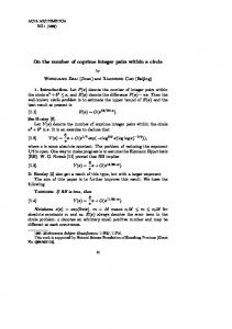 On the number of coprime integer pairs within a circle