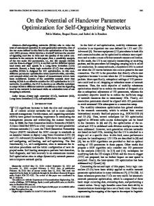 On the Potential of Handover Parameter Optimization for ... - IEEE Xplore