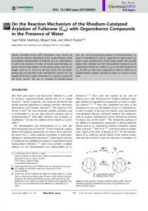 On the Reaction Mechanism of the Rhodium& ... - Wiley Online Library