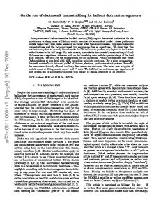 On the role of electroweak bremsstrahlung for indirect dark matter ...
