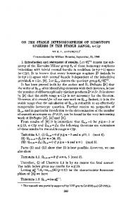 ON THE STABLE DIFFEOMORPHISM OF ... - Semantic Scholar