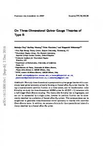 On Three-Dimensional Quiver Gauge Theories of Type B