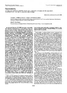 Oncomodulin - The Journal of Biological Chemistry