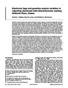 Oncorhynchus mykiss - Canadian Science Publishing