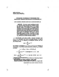 ONE-SIDED TAUBERIAN THEOREMS FOR