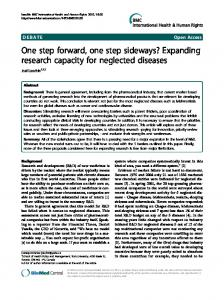 One step forward, one step sideways? Expanding research capacity ...