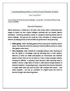 Online Money Laundering: a review of hackers ... - Semantic Scholar