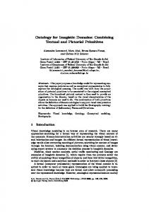 Ontology for Imagistic Domains: Combining Textual and ... - inf - ufrgs