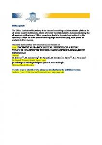 Open Access - Ghent University Academic Bibliography