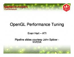 OpenGL Performance Tuning - AMD