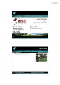 opensensor overview - Mobile Devices