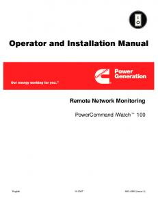 operator and installation manual cummins mafiadoc com onan energy command 30 for sale at Wiring An Rv Generator Auto Start Ec 30