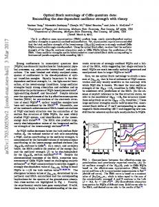 Optical Stark metrology of CdSe quantum dots: Reconciling the size ...