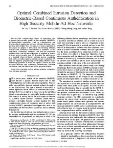 Optimal Combined Intrusion Detection and ... - Semantic Scholar