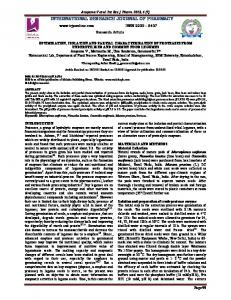 optimization, isolation and partial characterization of proteases from ...