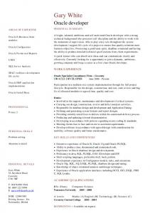 Welder cv template example dayjob mafiadoc oracle developer cv template dayjob pronofoot35fo Gallery