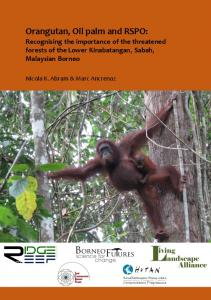 Orangutan, Oil palm and RSPO - iied iied - International Institute for ...