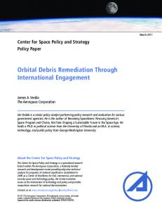 Orbital Debris Remediation Through International Engagement
