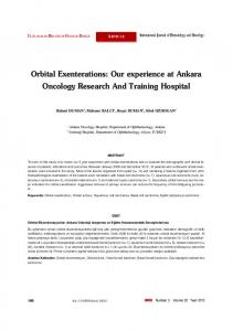 Orbital Exenterations - International Journal of Hematology and ...