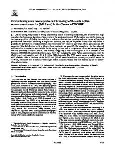 Orbital tuning as an inverse problem - Wiley Online Library