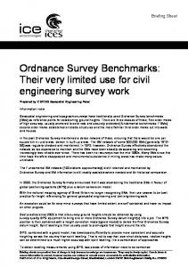 Ordnance Survey Benchmarks - Chartered Institution of Civil ...