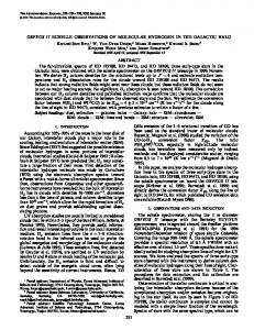 ORFEUS II Echelle Observations of Molecular Hydrogen in the ...