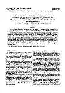 ORIGIN AND EVOLUTION OF STRUCTURE FOR GALAXIES IN THE