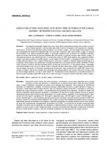 original article association of body mass index with ... - SciELO Argentina