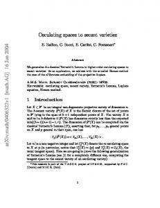 Osculating spaces to secant varieties
