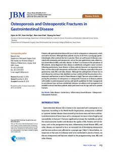 Osteoporosis and Osteoporotic Fractures in ... - KoreaMed Synapse