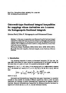 Ostrowski-type fractional integral inequalities for