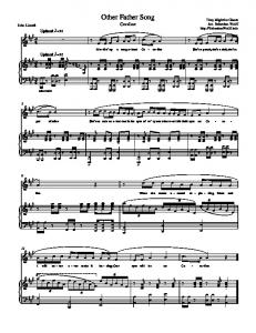 Other Father Song (Piano Sheet Music)